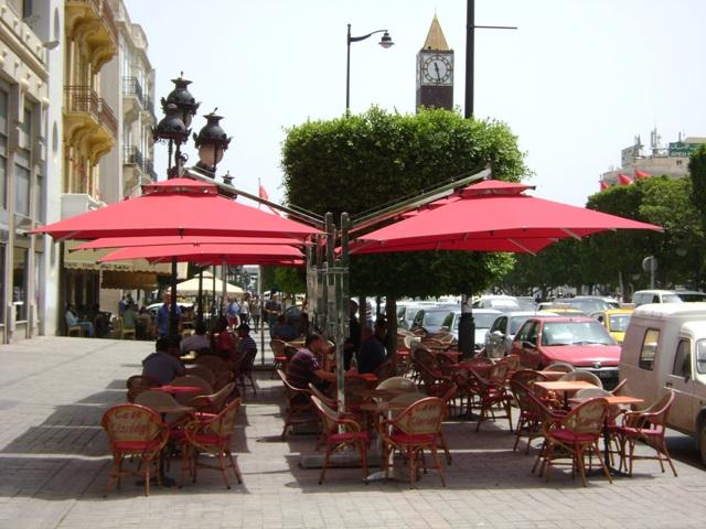 parasol double excentr tunisie parasol. Black Bedroom Furniture Sets. Home Design Ideas